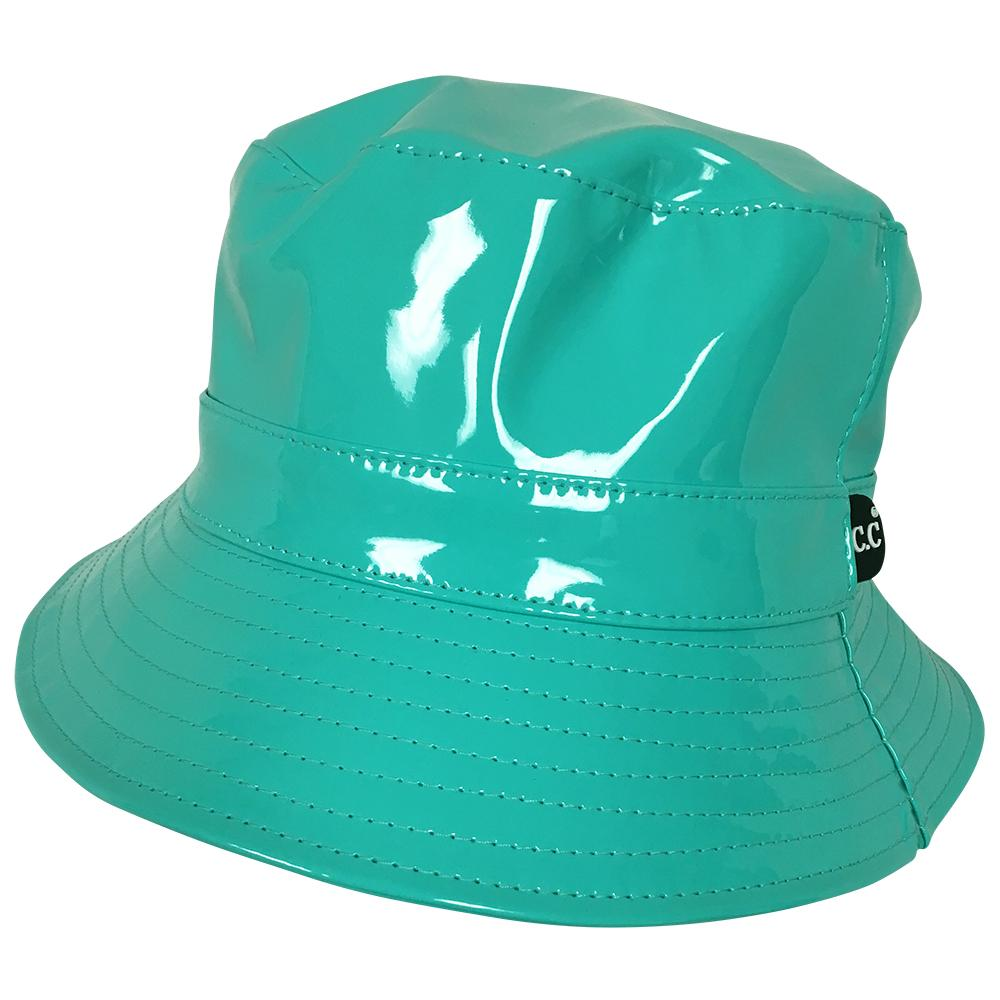 C.C Rain Bucket Hat-Mint