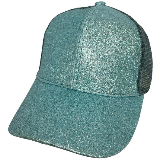 BT-6 Metallic Pony Cap Mint