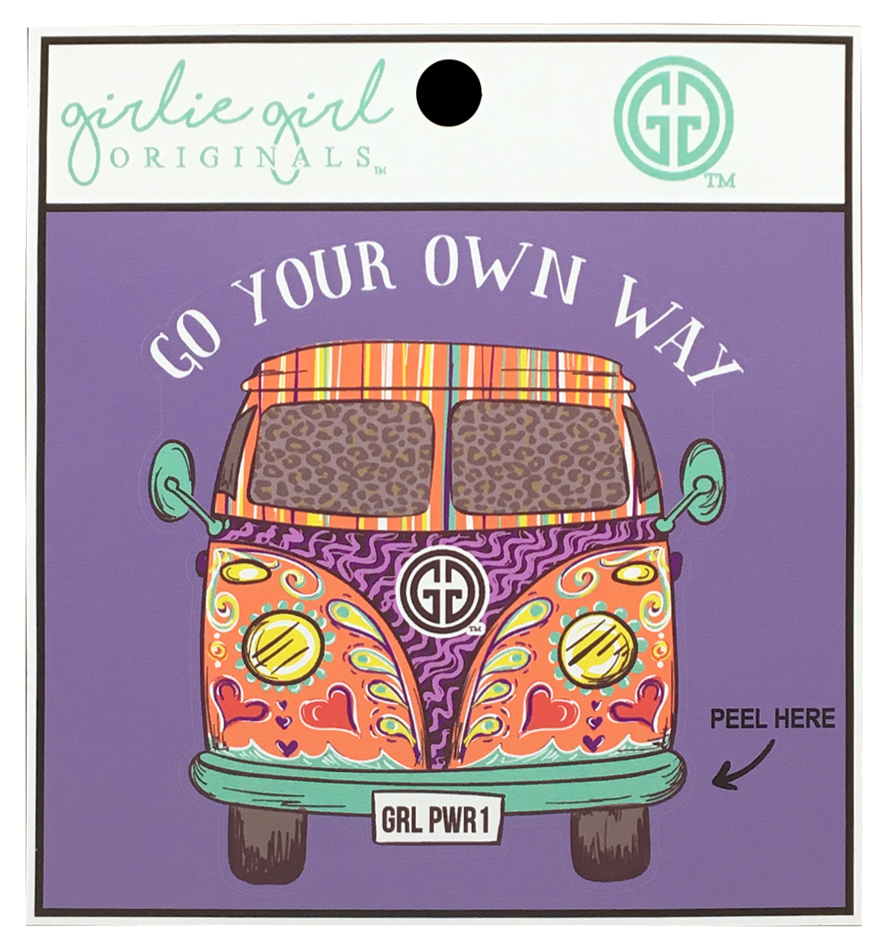 Your Own Way Decal