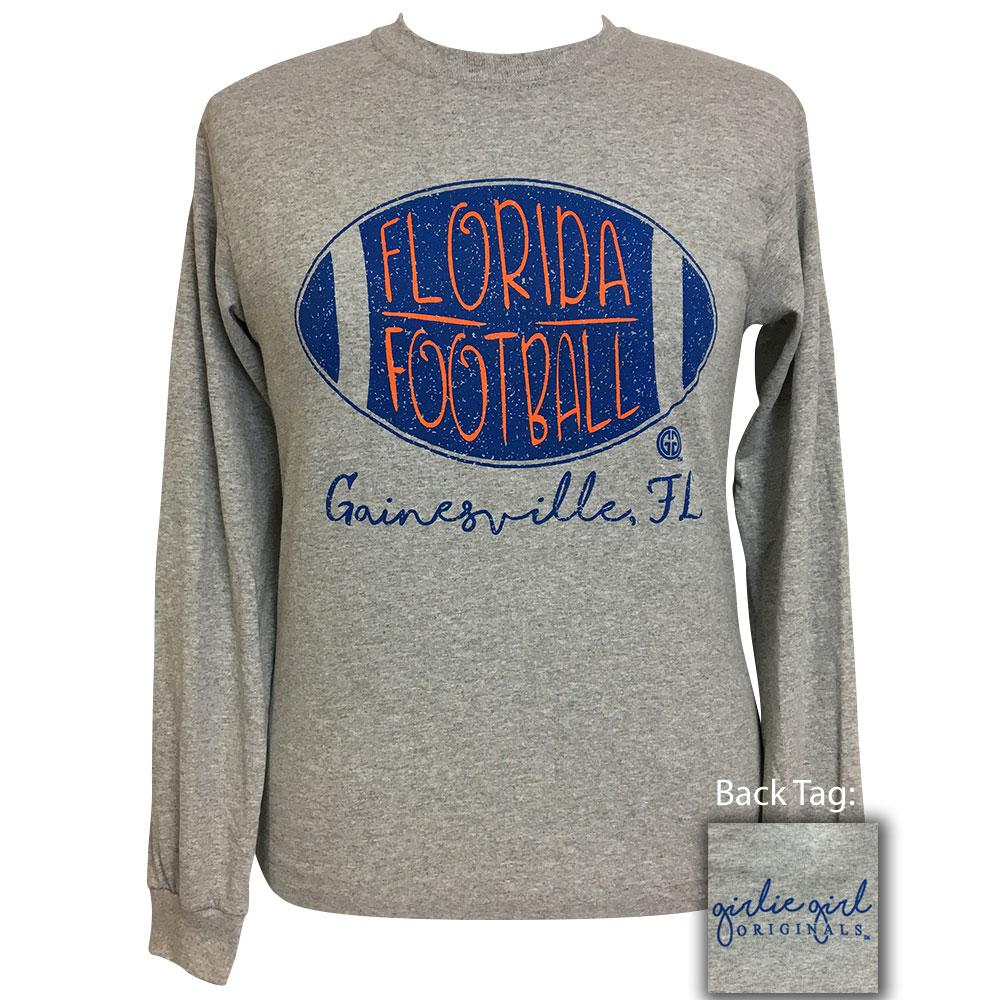 Florida Football-Gainsville Sports Grey Long Sleeve T-Shirt