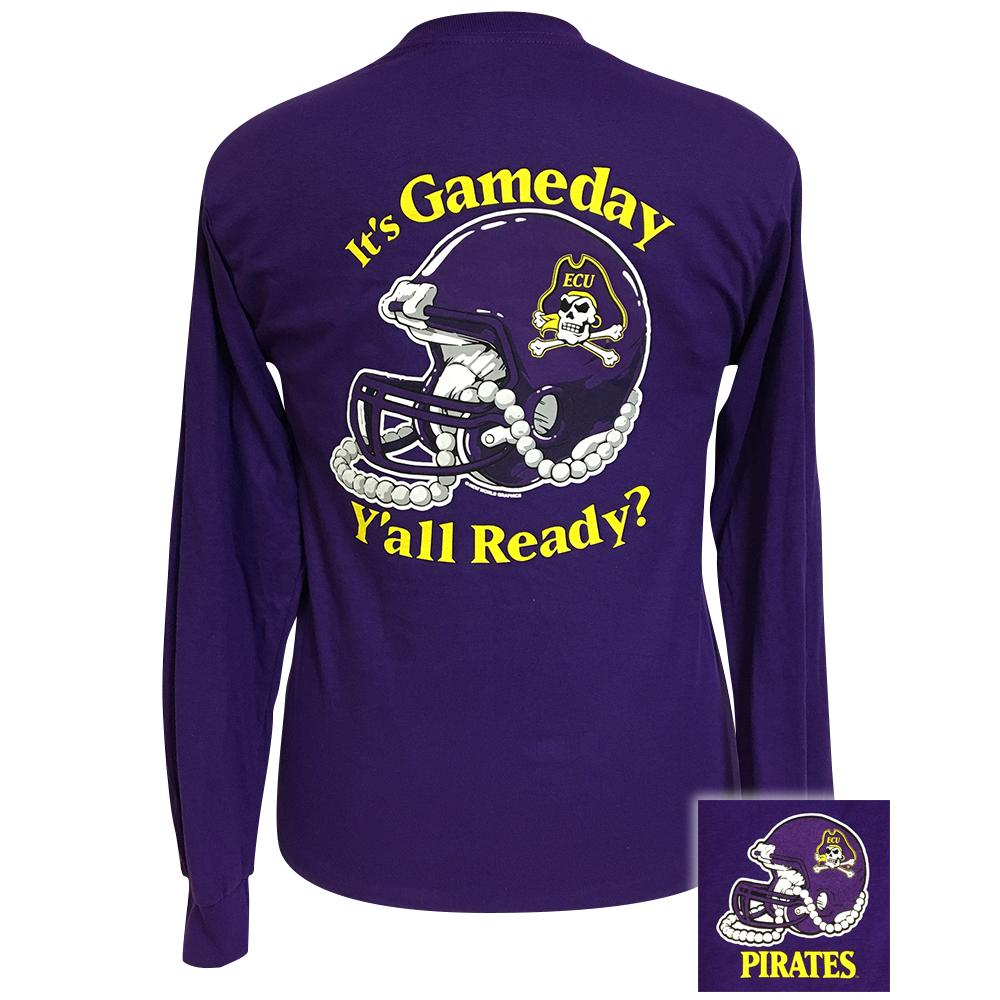 Gameday East Carolina Purple Long Sleeve