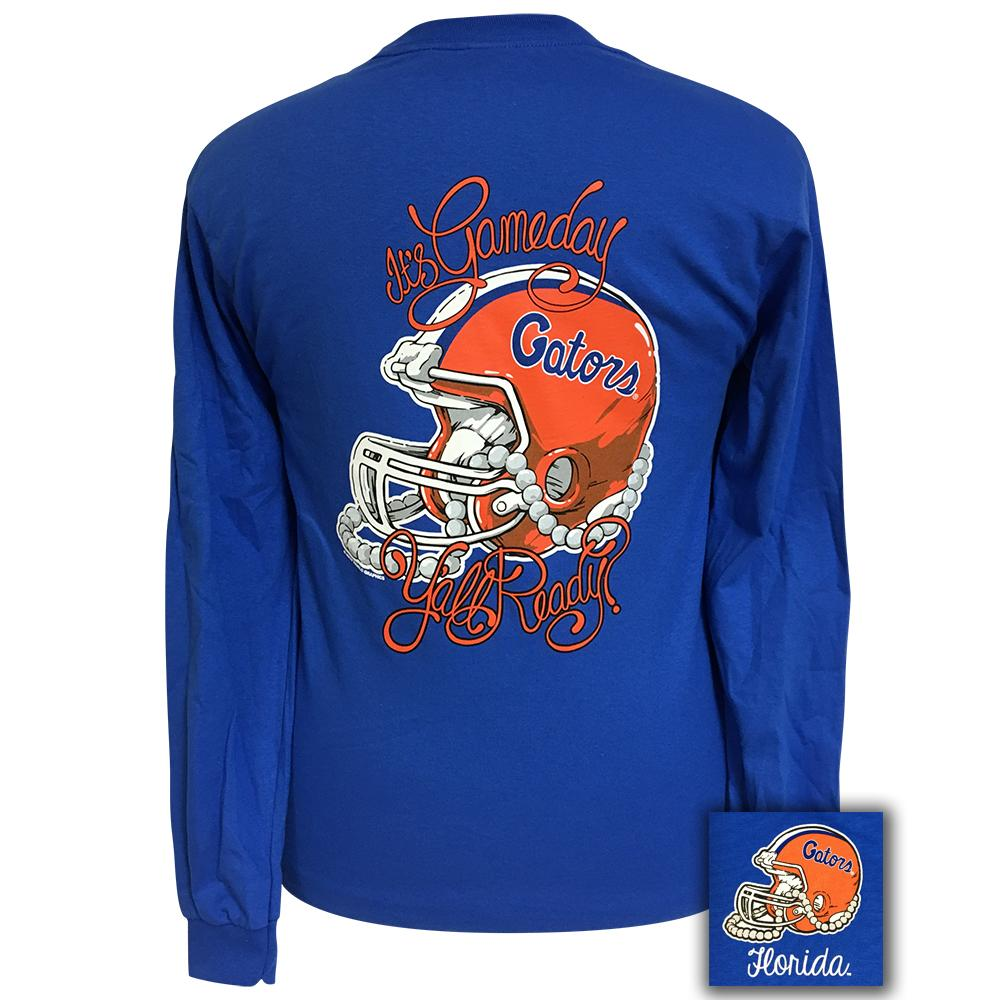 Gameday Florida Royal Blue Long Sleeve
