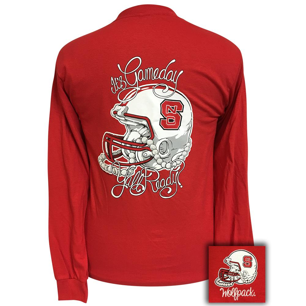 Image of NCST Gameday Red Long Sleeve Tee