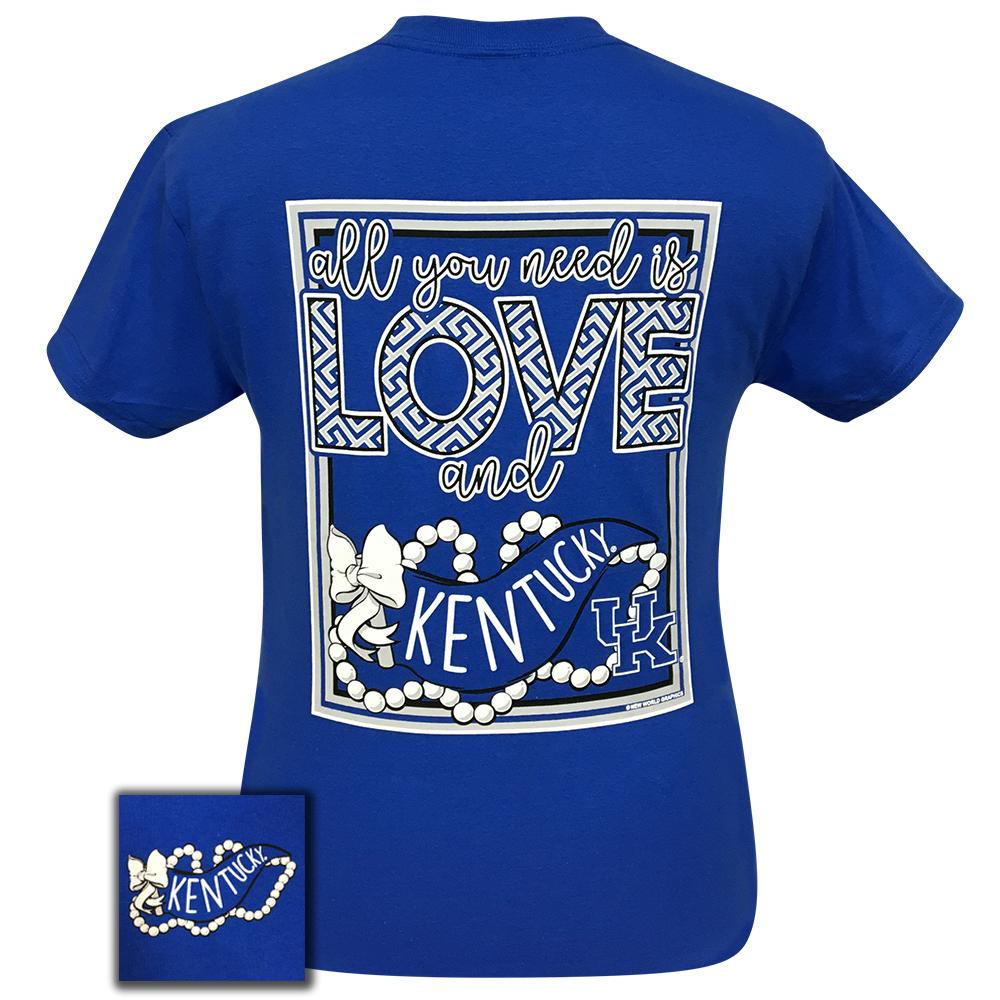 All You Need Is Love and Kentucky Short Sleeve Royal