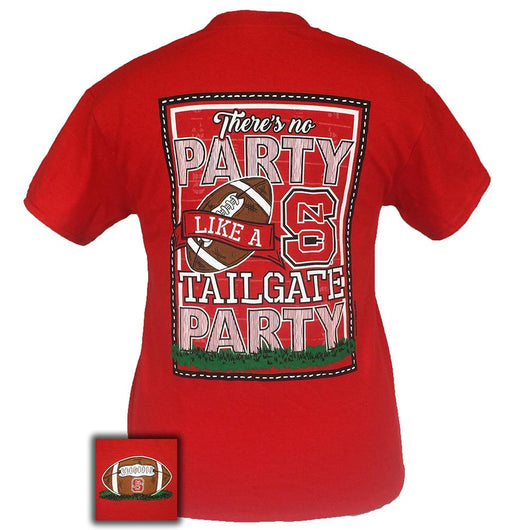 Back View of NCST Tailgate Party Short Sleeve Shirt