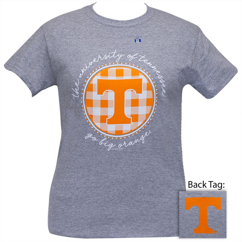 Tennessee Buffalo Plaids Sports Grey SS