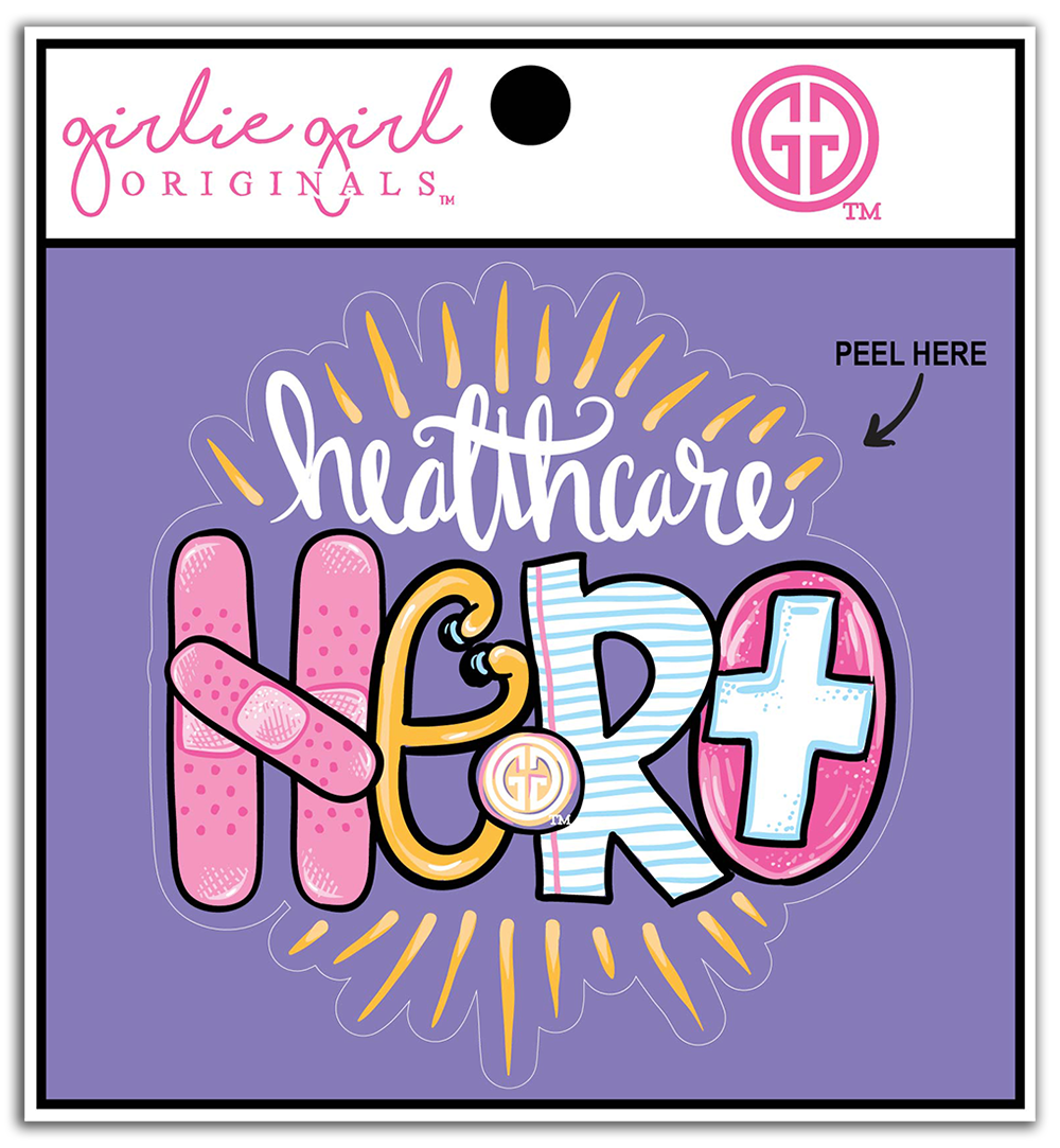 Decal/Sticker-2238-Healthcare Hero