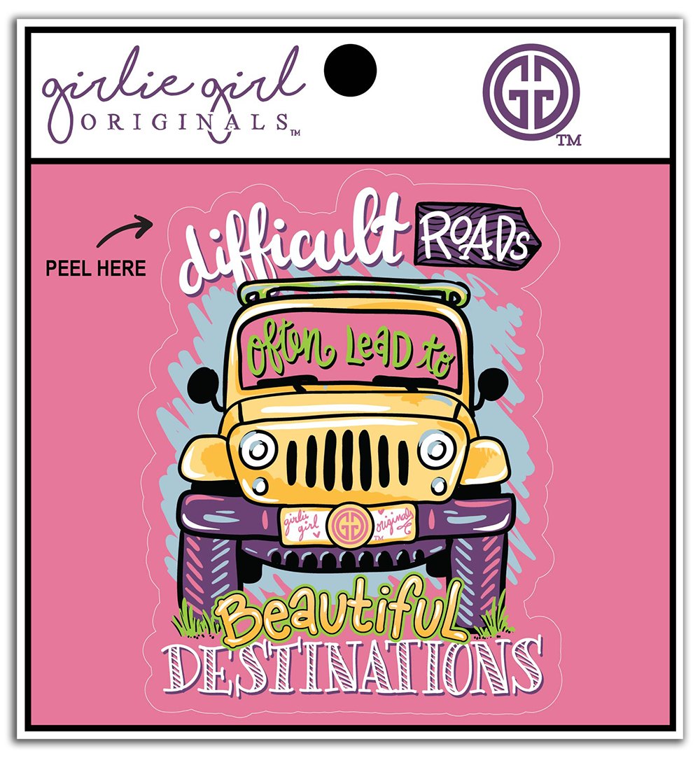 Decal/Sticker Beautiful Destinations 2364