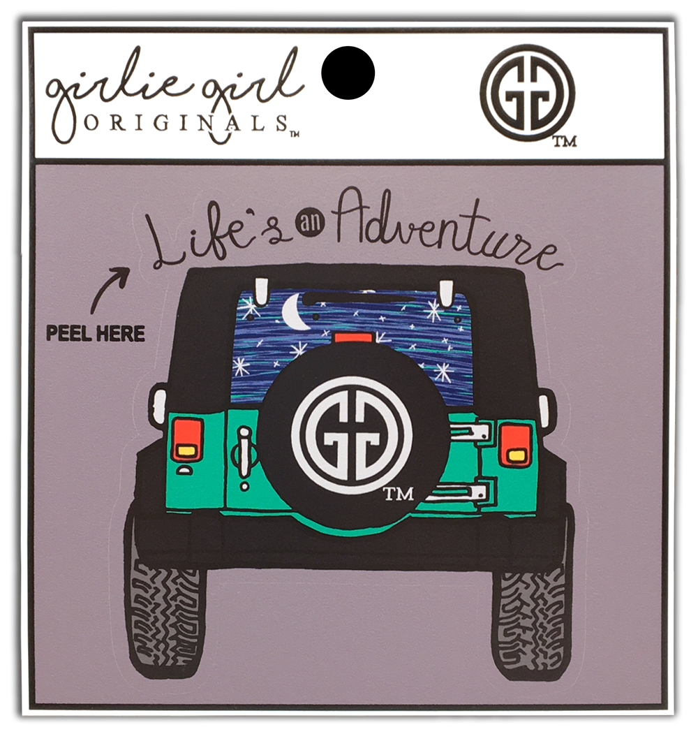 Life's an Adventure Decal
