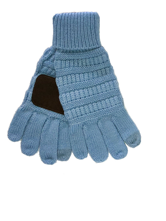 C.C GL-20 Pale Blue Gloves
