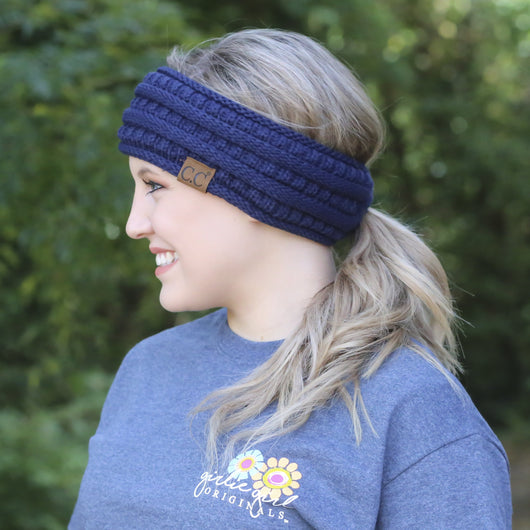 HB-21 Pony Headwrap Navy