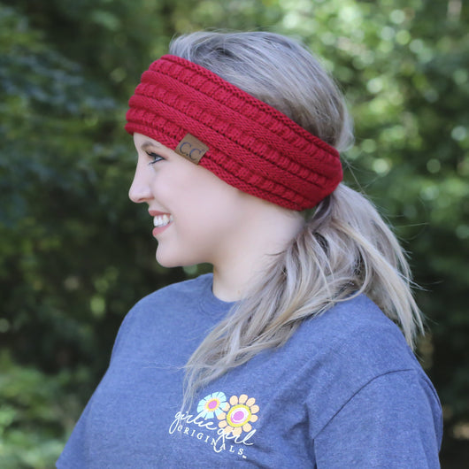 HB-21 Pony Headwrap Red