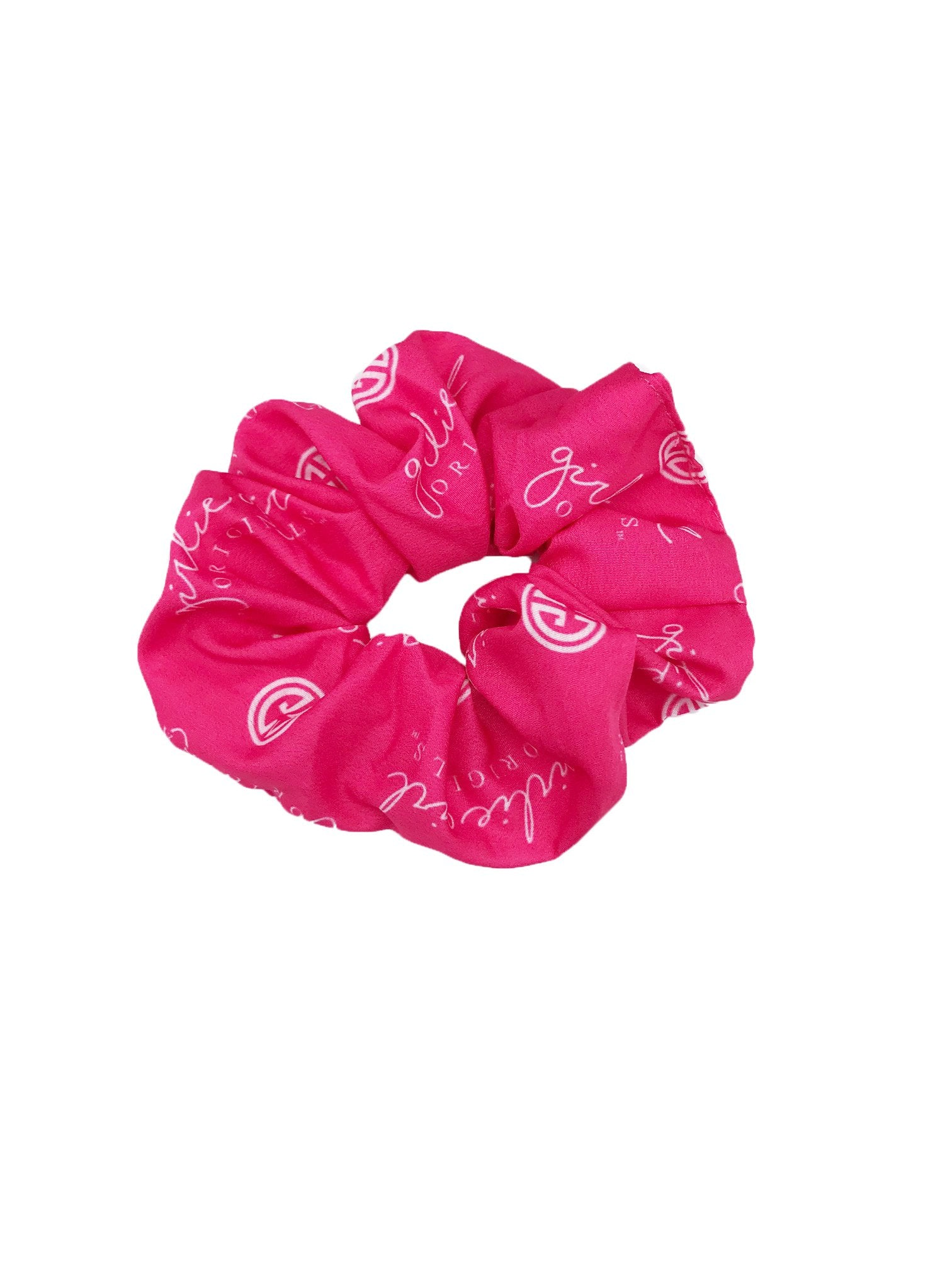 SCR-23-GGO Hot Pink Scrunchies
