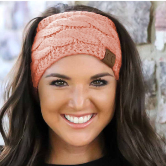 HW-20 C.C HEADWRAP PEACH