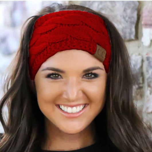 HW-20 C.C HEADWRAP RED