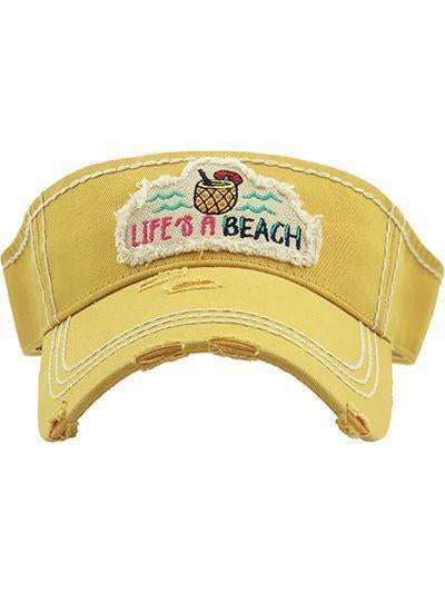 KBR-142 Life's a Beach Yellow