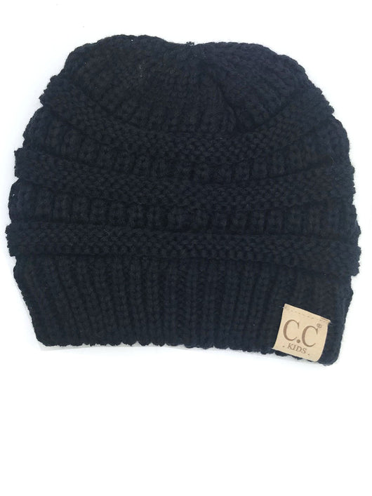 YJ-847 Youth Beanie Black