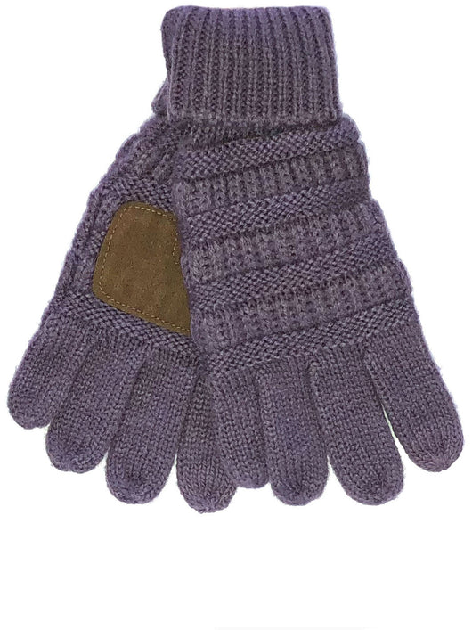 C.C GL-20KID Violet Gloves
