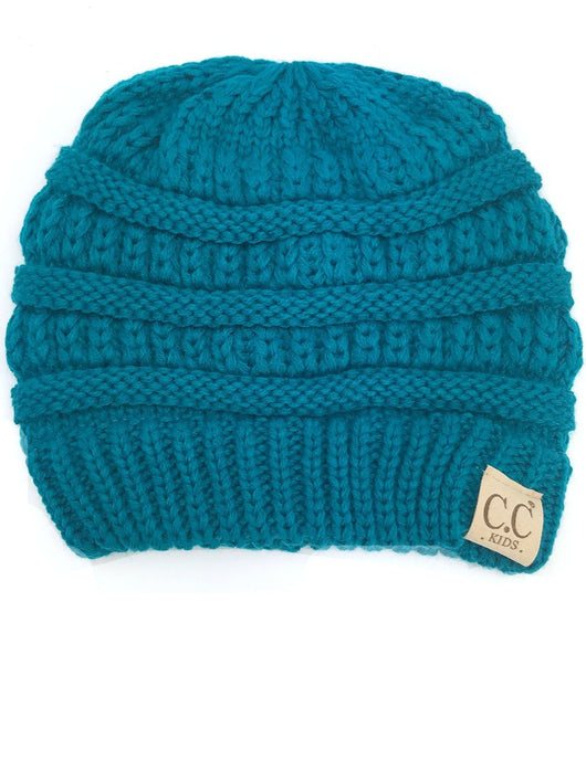 YJ-847 Youth Beanie Teal