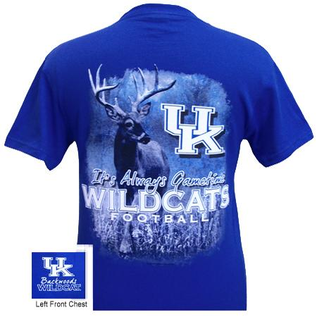 Kentucky Gametime - Royal (short sleeve)