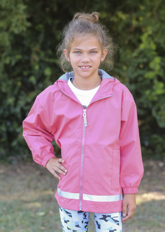 Raincoat Youth Coral