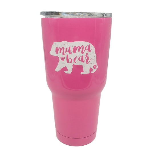 TB2468 Mama Bear Pink Stainless Steel Tumbler