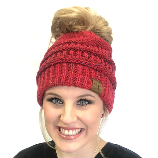MB-817A Messy Bun Ombre Red