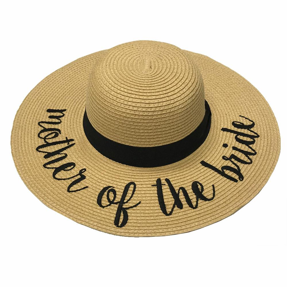 ST-2017 Mother of the Bride Beach Hats