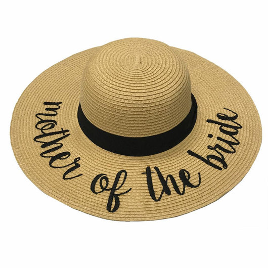 9ff6efbe202 ST-2017 Mother of the Bride Beach Hats – girliegirloriginals