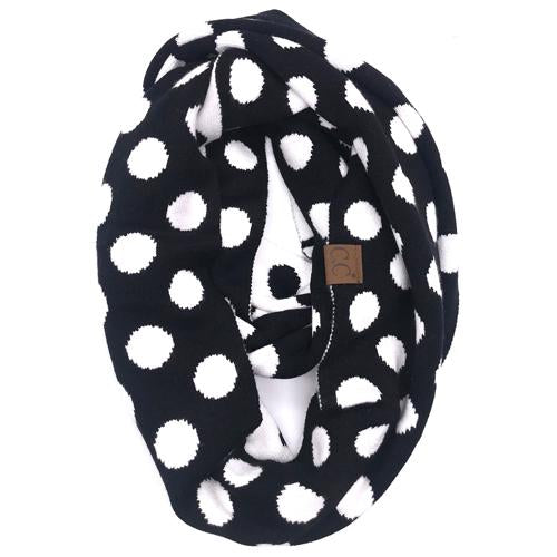 PD-INF-21 SCARF Black/White
