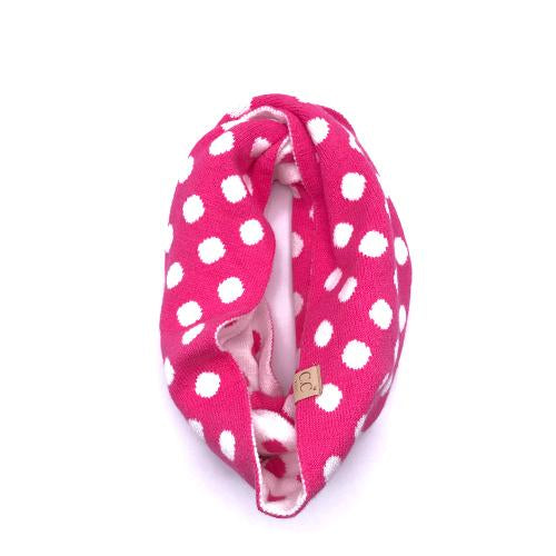 PD-KIDS-INF-21 SCARF NEW CANDY PINK
