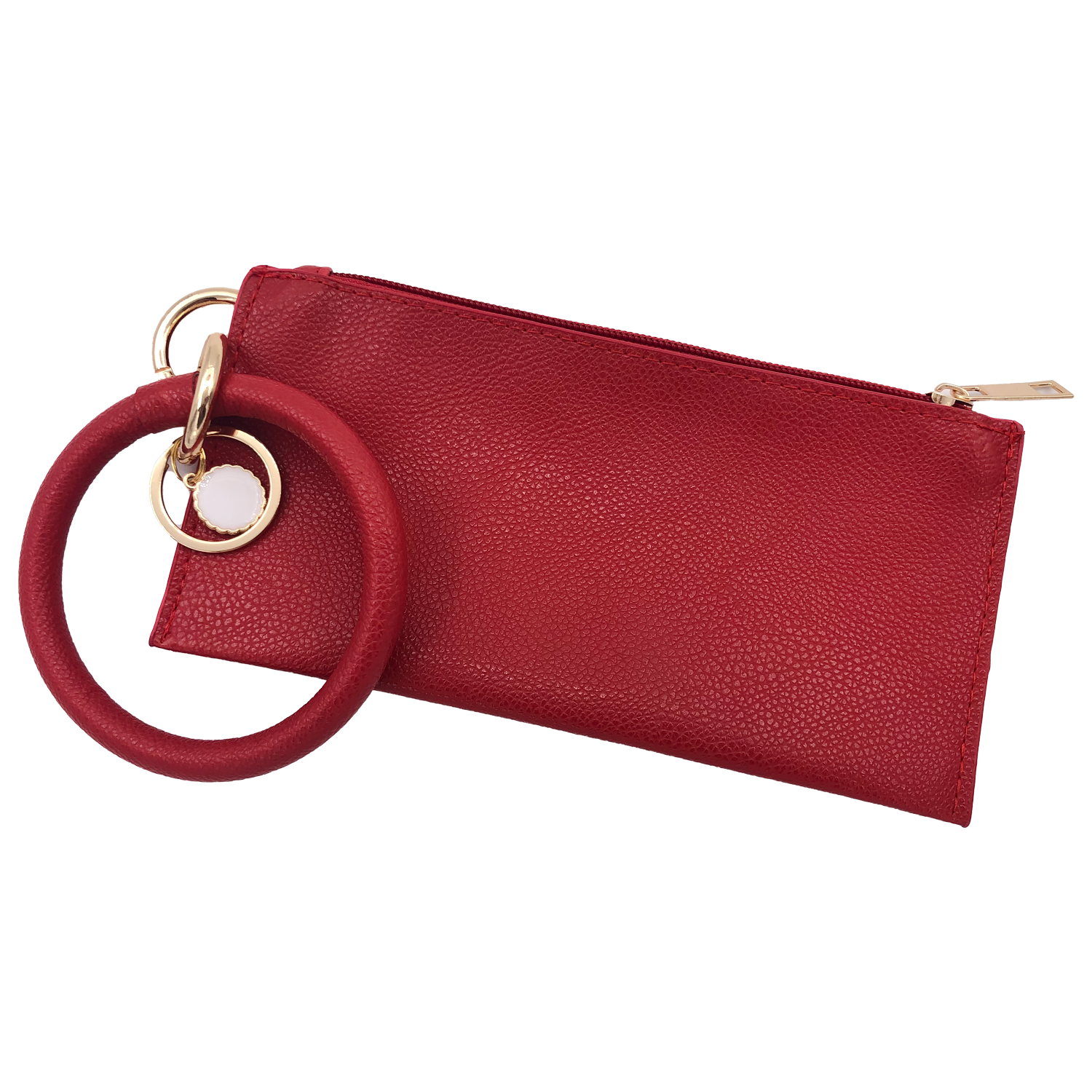 CL-8848 Wristlet Clutch Red