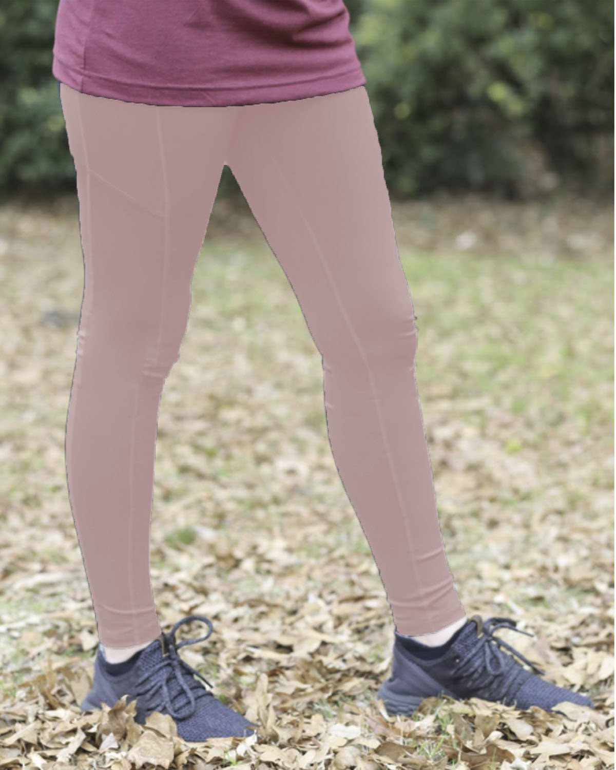 LG-1824 Light Pink Leggings