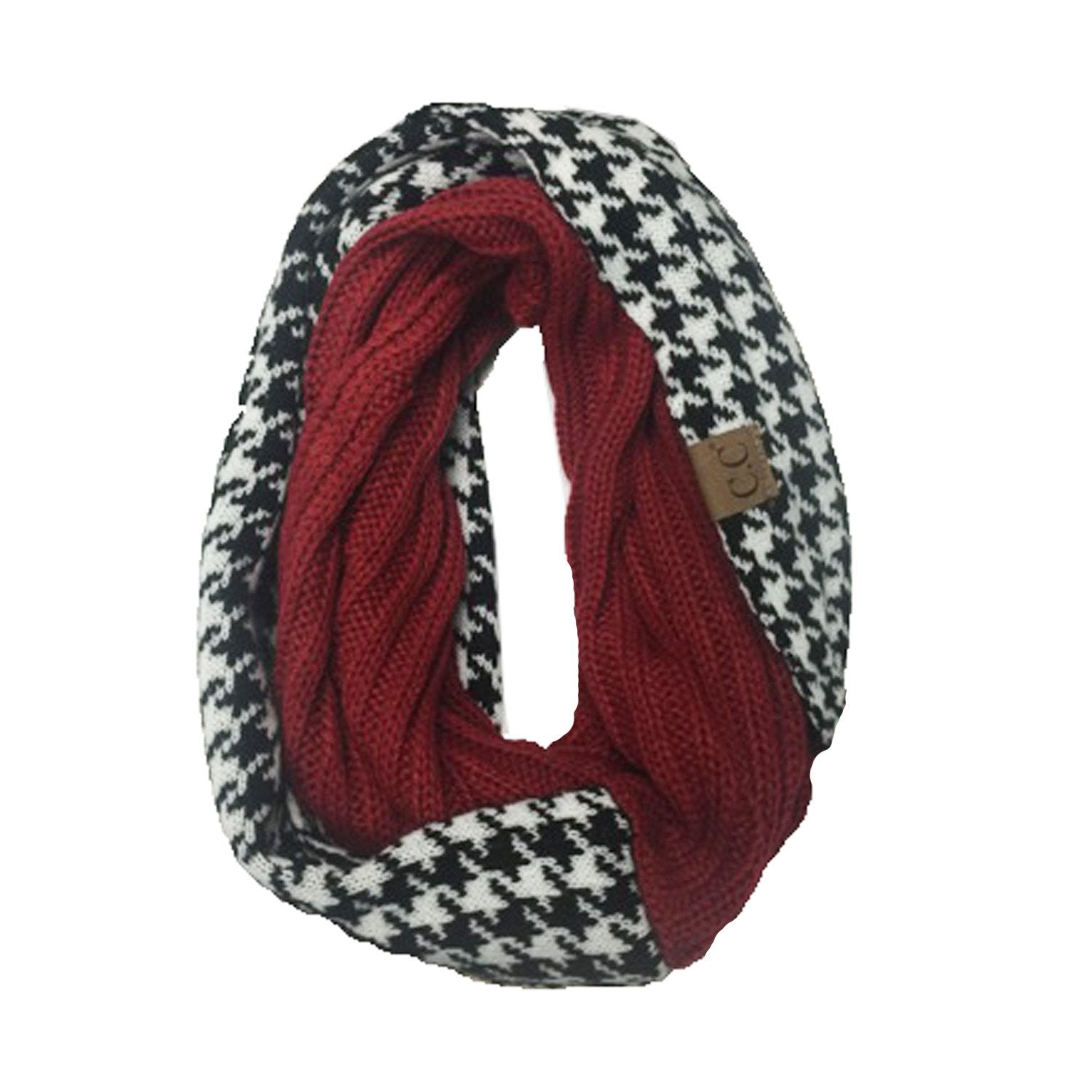 SF12-HOUNDSTOOTH CRIMSON