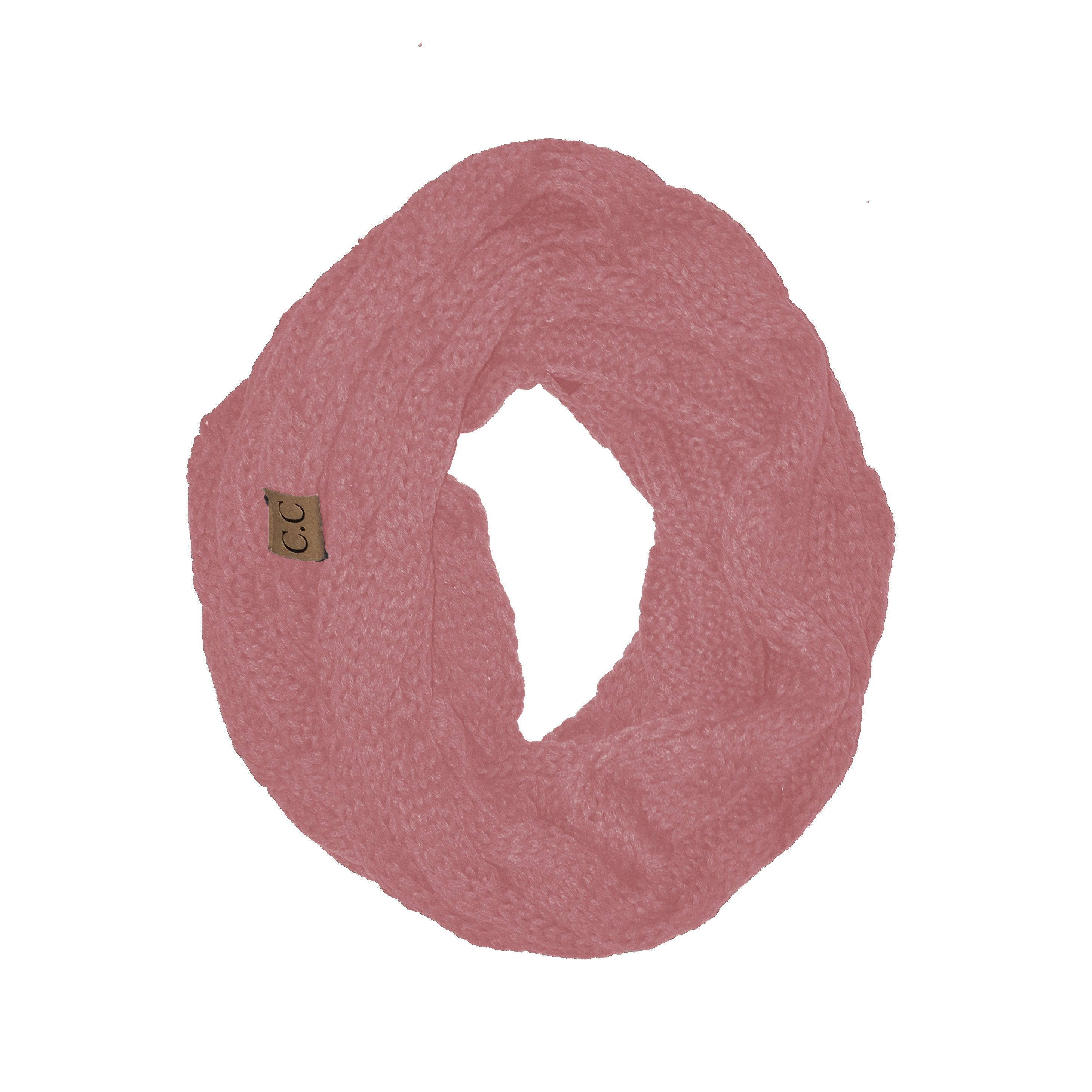 SF20-Indi Pink Infinity Scarf