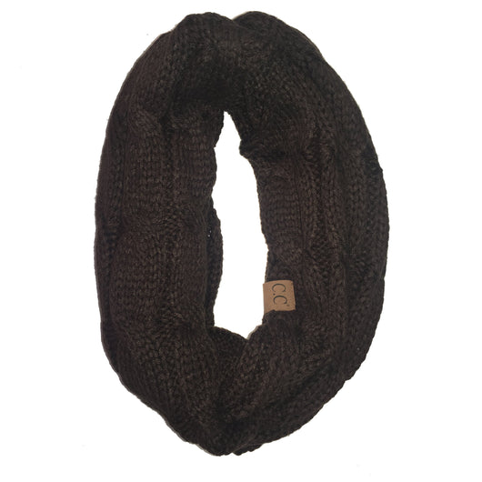 SF-800-Brown Infinity Scarf