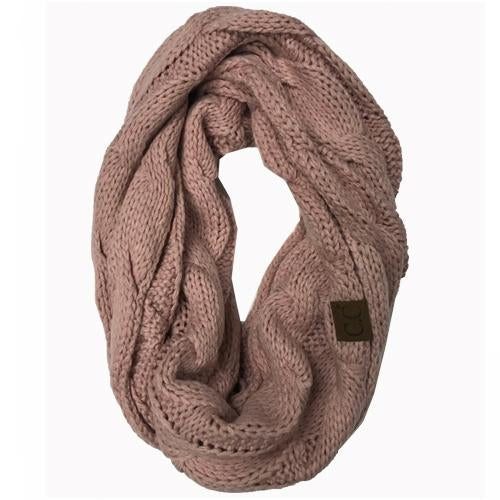 SF-800-Rose Infinity Scarf