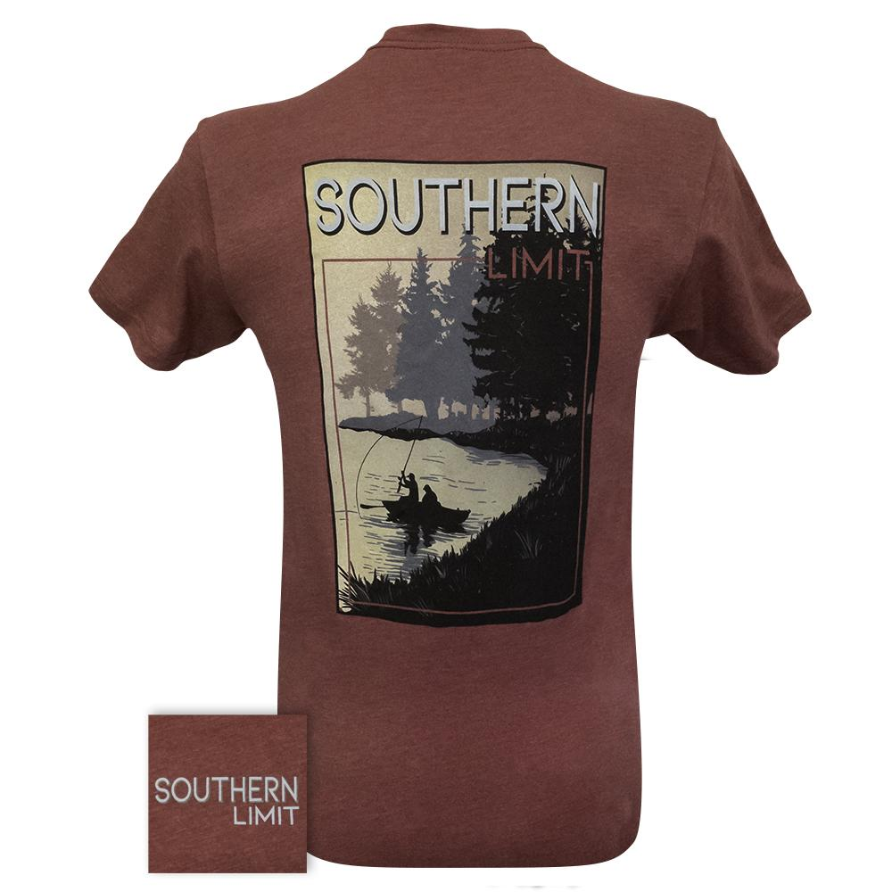 Southern Limit Fog Fishing Cardinal Short Sleeve