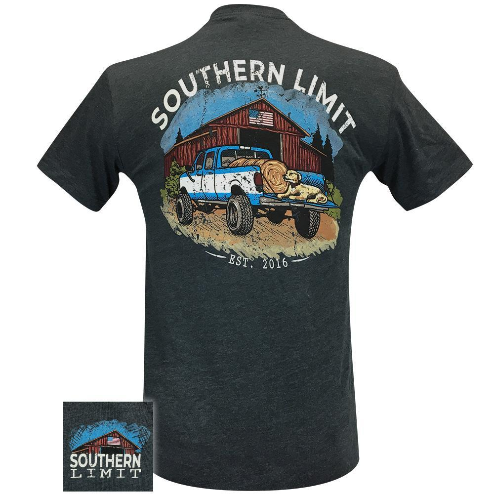 Southern Limit Truck and Barn 72 Charcoal Short Sleeve