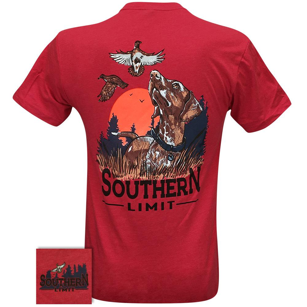 Southern Limit Bird Dog 79 Red Short Sleeve
