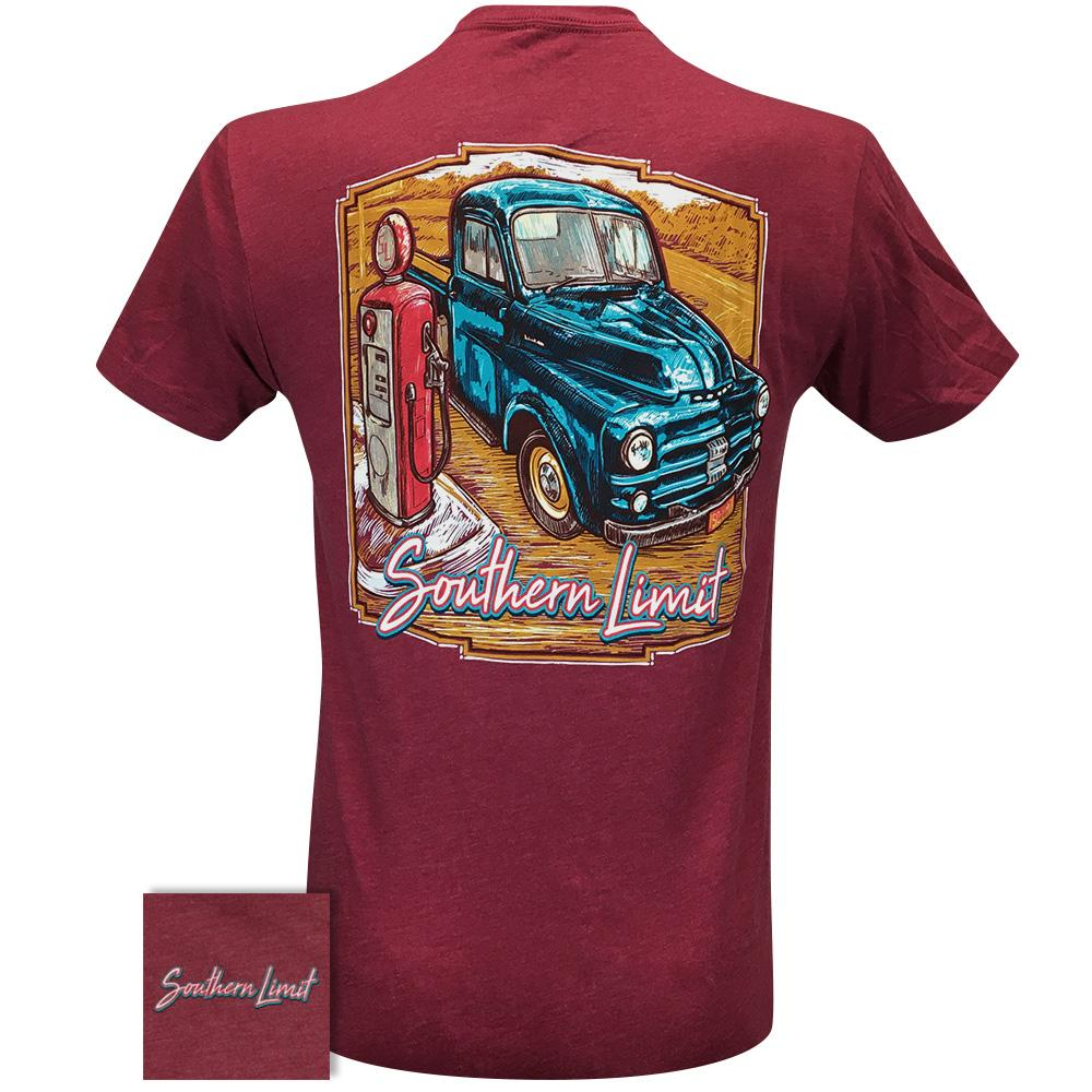 Southern Limit Gas Pump 85 Cardinal Short Sleeve
