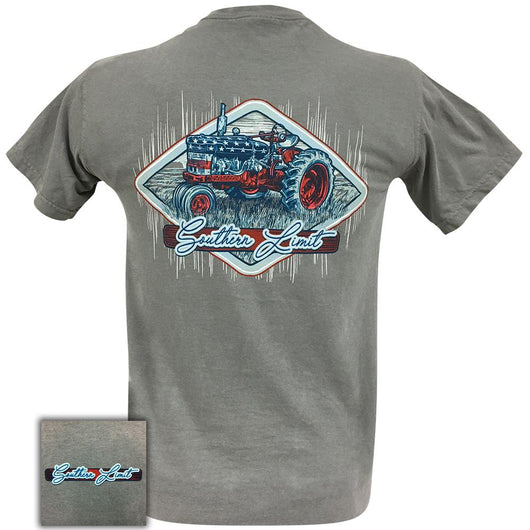 Southern Limit RWB Tractor Comfort Color Grey 51 Short Sleeve