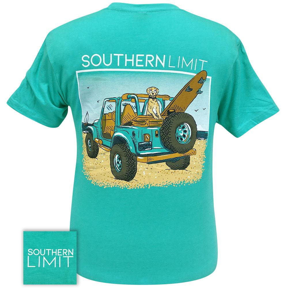 Southern Limit 67 Beach Ridin' Tahiti Blue Short Sleeve