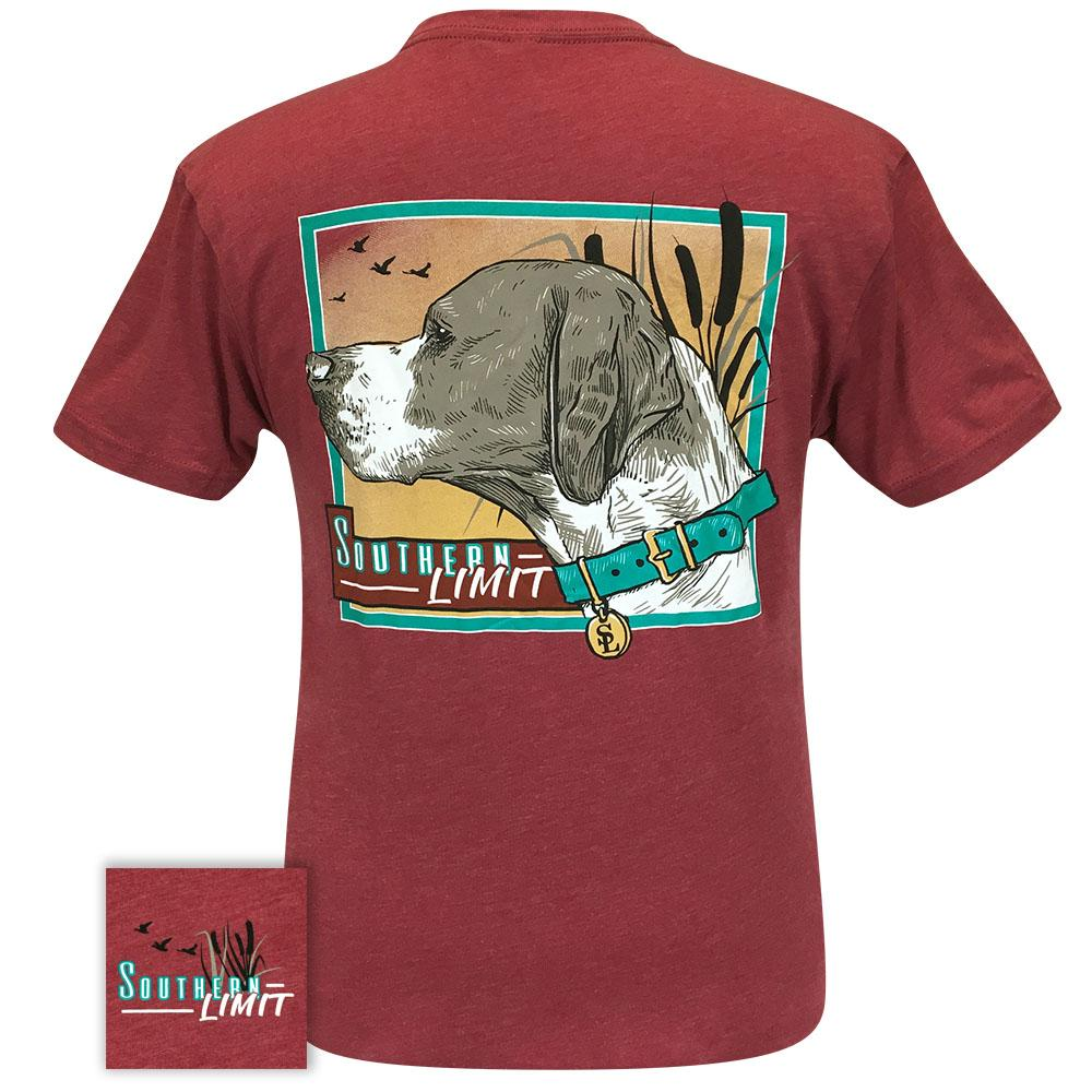 Southern Limit 68 Dog Gazing Cardinal Short Sleeve