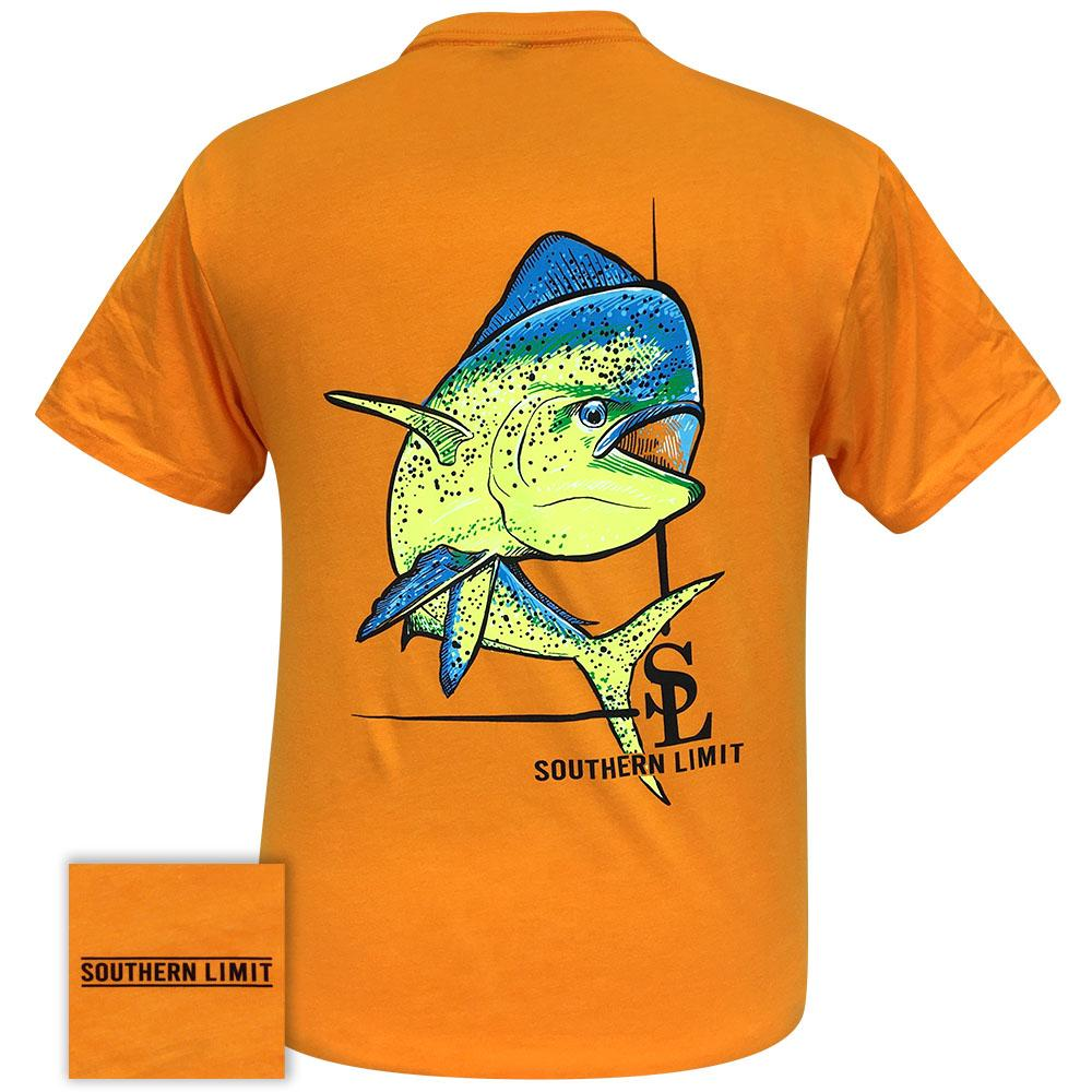 Southern Limit 69 Mahi Orange Short Sleeve