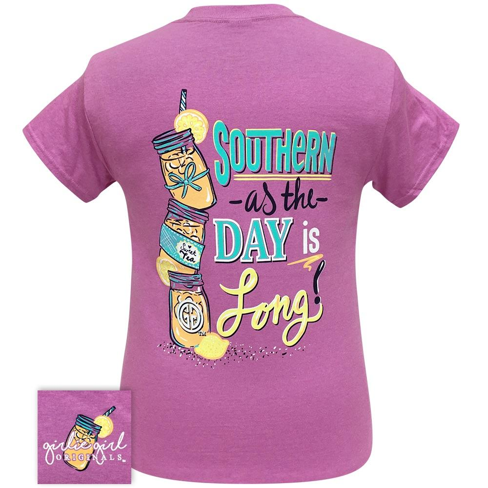 Southern Long Day Heather Radiant Orchid 2251 Short Sleeve