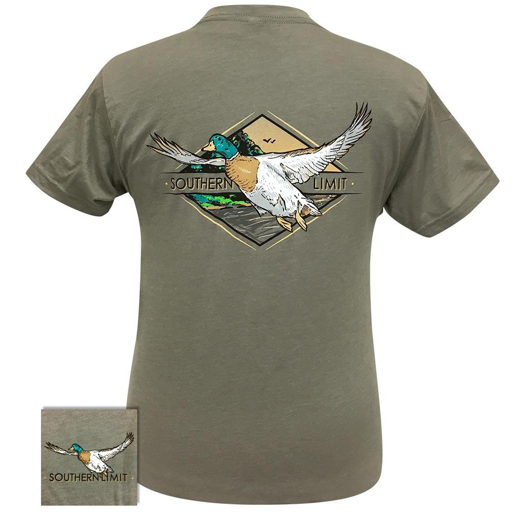 Southern Limit-66 Mallard Stone Grey Short Sleeve