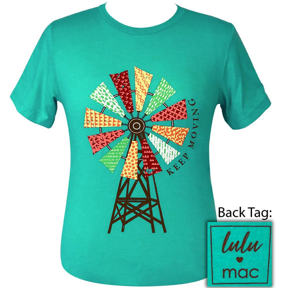 lulu mac-Windmill Heather Sea Green-17 Short Sleeve