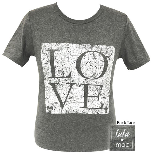 lulu mac-Love Deep Heather- 4 Short Sleeve