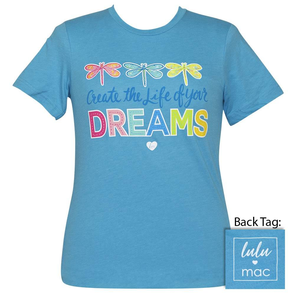 lulu mac-Dreams-Heather Aqua-SS-LM58